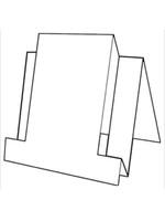 Centre Step Card - Bazzill White 10pk