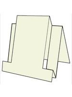 Centre Step Card - French Vanilla 10pk