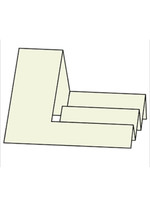 Side Step Card - French Vanilla 10pk