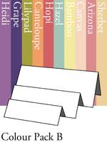 Tri-Fold Right - Colour Pack B