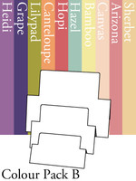 Tri-Fold Rectangles - Colour Pack B