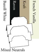 Tri-Fold Labels 4 - Neutrals