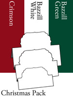 Tri-Fold Labels 4 - Christmas