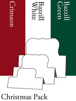 Tri-Fold Labels One - Christmas