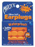 Mack's Pillow Soft Silicone Ea Plugs - Kids Size