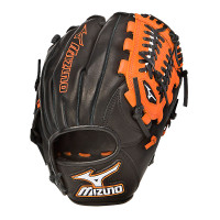 "Mizuno MVP Prime Black/Orange GMVP 1154PSE 11.5"" Infield Glove (Right Hand Throw Only)"