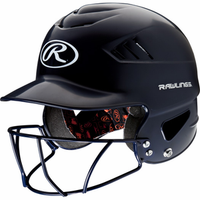 Rawlings Softball Helmet w/ FaceGuard