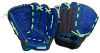 "Easton Z-Flex Youth 11"" Glove Blue/Green (right handed thrower only)"