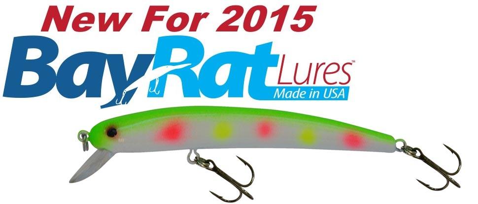 Introducing Bay Rat Lures!