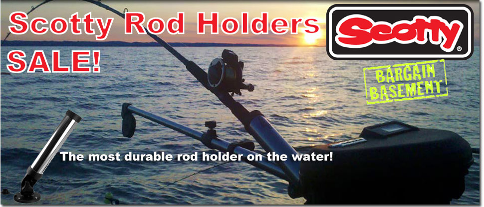 Scotty Rod Holder Sale - Limited time!