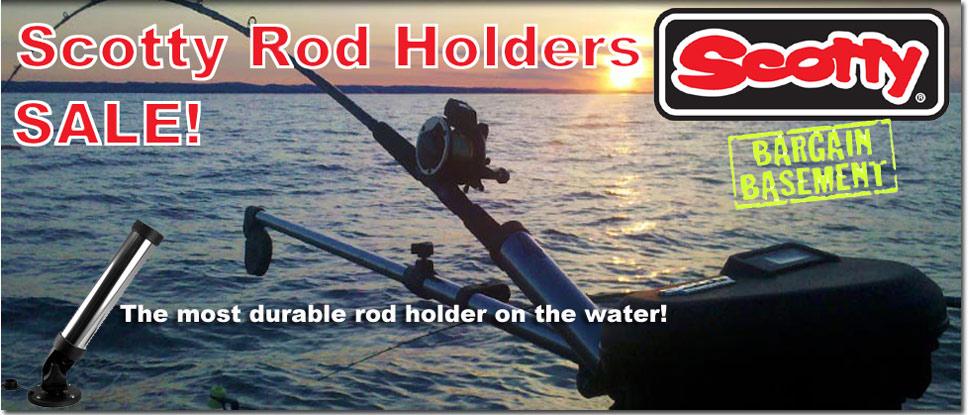 Scotty Rod Holder Sale - Limited time!