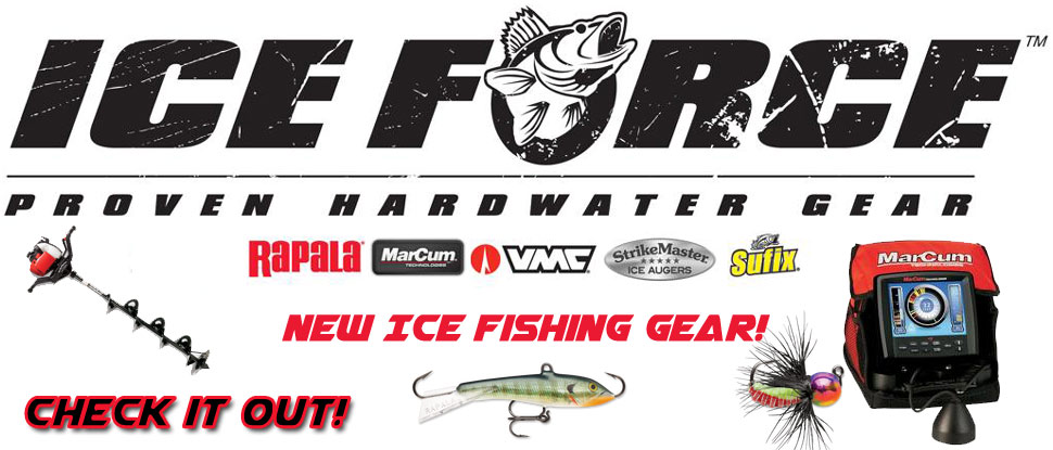 Team FISH307 and Ice Force have combined forces to offer you the best ice fishing gear for 2015!