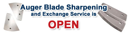 FISH307.com Auger Blade Sharpening Service is OPEN