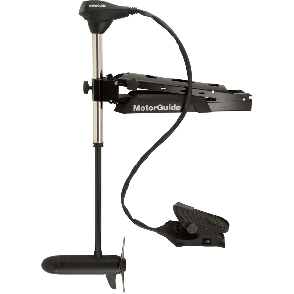 Motorguide x5 80fw foot control bow mount trolling motor for Gps trolling motor for sale