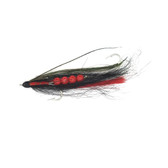 Anglers Custom Products Chinook Series Tandem Fly - Black Minnow
