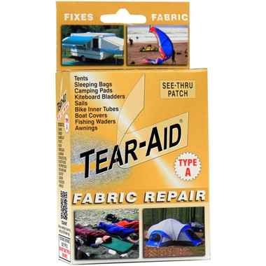 Tear aid gold fabric repair kit type a for Fish tape walmart