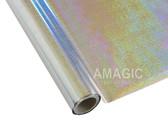 AMagic Textile Foil - S0KP24 Holographic Champagne Silver