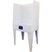 """EasiWay -  E3224 - 32"""" Wide Polypropylene Washout Booth"""
