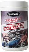 Sprayway - Crazy Clean Wipes - Tub