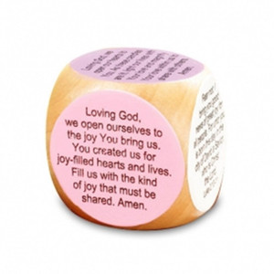 Advent Christmas Wooden Prayer Cube