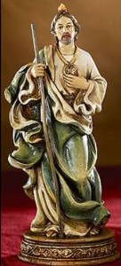 "6"" Saint St. Jude Religious Statue Figurine Home Decoration"