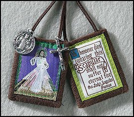 Divine Mercy Jesus Brown Scapular