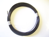 "BLACK Vinyl Coated Cable, 1/16"" - 3/32"", 100 ft Coil"