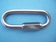 Stainless Steel Wide Jaw Quick Link, 1/4""