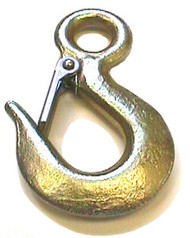 Alloy Eye Hoist Hook, 1 Ton
