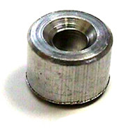 "Aluminum Stops for Wire Rope, 1/8"", 100 pieces"