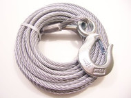 "Galvanized Winch Cable, 5/16"" x 50 ft, Tie Down Engineering 50427"