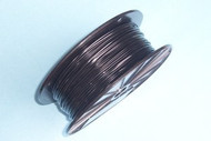 "BLACK Vinyl Coated Cable, 1/16"" - 3/32"",  7x7, 5000 ft reel"