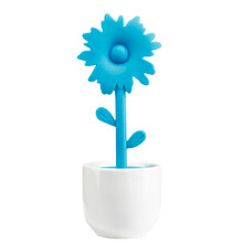 Confetti Flower Tea Infuser in Turquoise