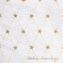 Stardust  Napkins in Gold by Medusa Copenhagen