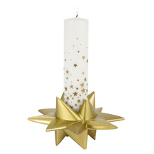 Mega Star Candle Holder in Gold from Medusa Copenhagen