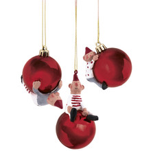 Johannes Christmas Ornaments by Medusa
