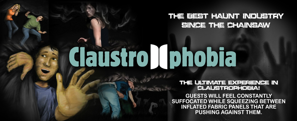 claustrophobia haunted houses