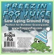 Freezin Fog - Outdoor / Graveyard Low Lying Ground Fog Machine Fluid - Fog Juice