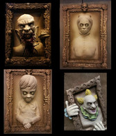 4 PIECE HAUNTED PORTRAITS DEAL