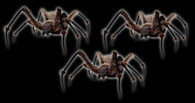 3 PIECE SPIDER MONSTROUS PROP DEAL