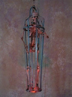 Iron Skeleton Cage with Age Skeleton, Medium Size  2 WEEK DELIVERY