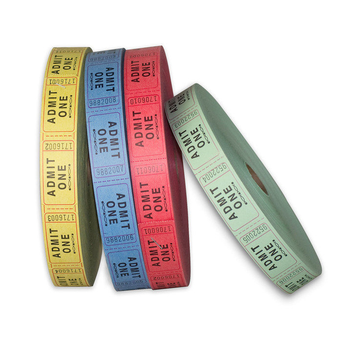 Single RollTickets