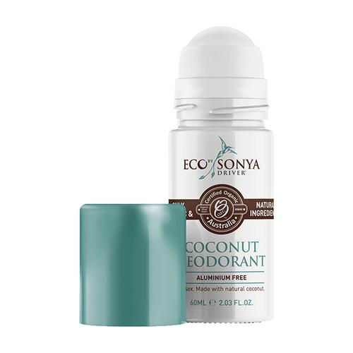 Eco by Sonya Certified Organic Coconut Roll-On Deodorant