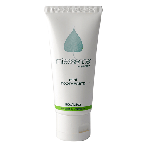 Miessence Organics Mint Toothpaste - Travel Size