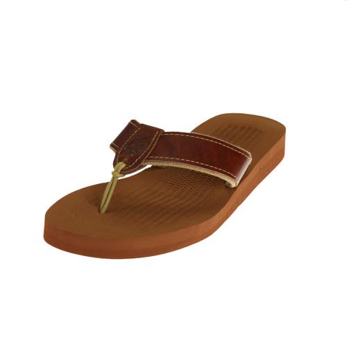 Ocean Rider Brand Handmade Leather Sandal - MLK04PLA