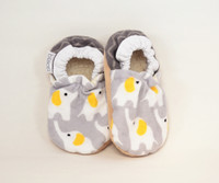 Cozy Elephant Bison Booties 6-12 months