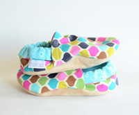 Bohemian Bison Booties 0-6 months