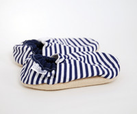 Nautical Bison Booties 18-24 months