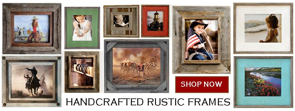 rustic barnwood frames mirrors furniture u0026 dcor - Barnwood Frames
