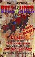 Vintage Signs - Bullrider